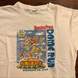 Vintage Shirts - Vintage Houston marathon shirt